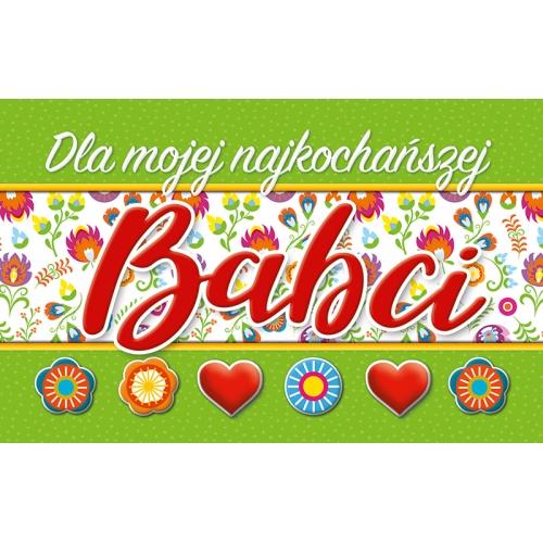 Dla mojej najkochańszej BABCI